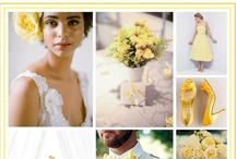 Ducklings and Chicks Wedding Design / This board is a classic yellow summer wedding inspiration, inspired by the beautiful ducklings and chicks.