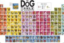 The Dog Table / The Dog Table of Elemutts Poster features illustrations of 186 dog breeds.  And it is now available in two sizes: 18x24 and 24x36. BUY THE DOG TABLE POSTER   http://thedogtable.com