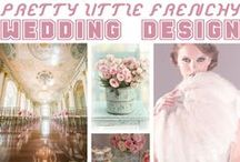 Pretty Little French Wedding Design / This is a design board based on the major craze Marie Antoinette, bright pastel colours.