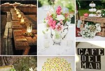 Organic Country Wedding Design: J&P / A collection of images for a pretty, relaxed garden marquee wedding