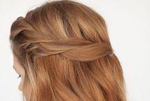 hair styles, hair colour, hair tips / by Rose Gold Autumn
