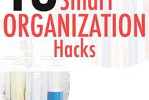 Organization / Finding the best ideas for organization around the home and at work!
