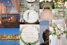Crete Destination Design / A board reflecting some ideas for a Crete wedding!