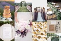 French Lavender Wedding Design / A wedding in France with purple tones
