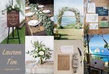 Zakynthos Wedding Design / Wedding design for a simple/elegant wedding on the island of Zakynthos with a natural/organic vibe #matthewoliverweddings