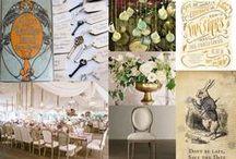 Alice in Wonderland Scottish wedding Design / Inspiration for a mad hatters wedding in Scotland.