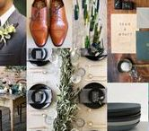Masculine Castle Design: Nicky and Alan / We want to be able to draw on the style of the castle, so using mild/dark tones that are similar to the walls and floors will help to really make your wedding unique and fun for your guests, with a relaxed casual tone.