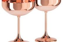 Rose Gold + Copper / Looking for something Rose Gold or Copper to add to your home? Check out these options.