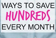 Save Money / Frugal Tips and Ways to Save Money
