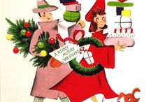 Retro Christmas Illustrations / Illustrations from the 40's-60's :) / by Lisa Myers