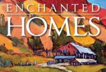 Enchanted Homes / Beautiful Taos area homes featured in our publication, Enchanted Homes. Photos are credited to Tina Larkin and Vishu Magee.