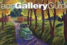 Taos Gallery Guide / The Taos Gallery Guide is a local source of information and locations focusing on the gallery scene in the Taos area.