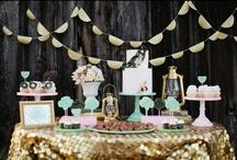 decorated desserts