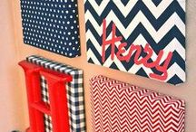 Chevrons / Chevron prints are a popular trend this spring so we're giving you some nice examples that could be incorporated into your home.