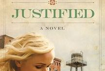 Justified / Justified, by Varina Denman, book 2 in the Mended Hearts series. - When the privileged daughter of a Texas rancher becomes pregnant by her abusive boyfriend, her small town casts judgment...except for one man who reaches out with gentle strength while she learns to forgive herself. Selah Award Finalist.