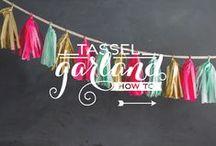 garlands, banners & tassels