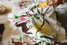 Embroidery: Otomi / A curated selection of contemporary embroidery artwork and designs featuring OTOMI EMBROIDERY.