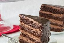 Chocolate Cakes / A selection of delicious chocolate cakes