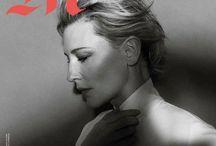 Cate & Robin / No todas sus portadas, solo las mejores de Cate Blanchett y Robin Wright