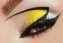 All Things Yellow / You've got a pocket full of sunshine with yellow makeup. With bursts of light and radiance, you can dazzle up your face in so many cool ways. And when you're feeling especially glitzy, take out the big guns, your metallic gold eyeshadow, and show everyone who rules as true makeup royalty.