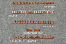 Embroidery Stitch Lexicon / The complete collection of embroidery stitches from the Pumora blog. This board showcases all published embroidery stitches.
