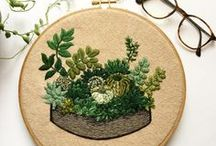 Embroidery: SATIN STITCH / A curated selection of contemporary embroidery artwork and designs featuring the SATIN STITCH.