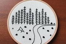 Embroidery: FLY STITCH / A curated selection of contemporary embroidery artwork and designs featuring the FLY STITCH.