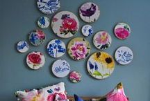 Embroidery hoop layouts / Got many many hoops to display? All embroidery wall art layouts gathered in one place.