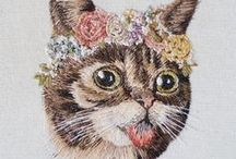 realistic embroidery / photo realistic embroidery - people & pet portraits, landscapes and other nature embroidery art