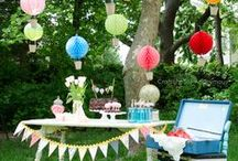 {PARTIES} All Themes / Party ideas, decor, games and food