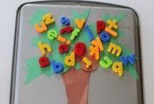 Learn - Alphabet / Innovative and creative ways to develop alphabet skills
