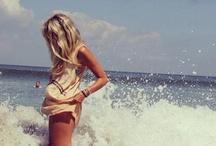 beach and swim / by Kerry Davis