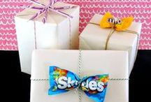 {PARTIES} Wrapper's Delight / Creative gift wrapping ideas