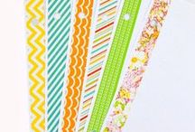 {CRAFTS} Washi Tape / All kinds of ways to use washi tape