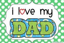 Fathers Day / Celebrate Fathers Day in your classroom with these creative fun ideas