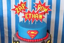 Kids Party Ideas - Superheros