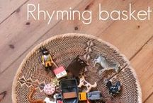 Learn - Rhyme and Syllables / Innovative and craetive ideas for teaching and learning rhyme and syllables