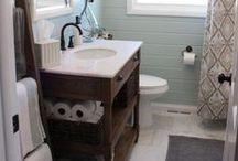 Renovation bathroom / Renovating bathroom in my new petite maison