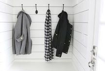 mudroom / Coats, book bags, mittens, scarves & muddy boots!