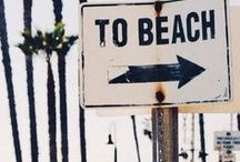 summer / Sunny days, cool treats & trips to the beach