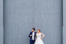 Our wedding photos / Foto's van Van kaartjes tot kiekjes