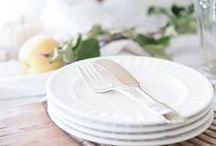 set the table / Dinner parties and holidays