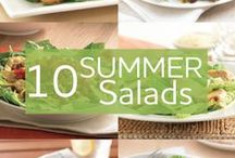 Sensational Salad Recipe Bites / Making recipes healthier without sacrificing the taste: http://beckysbestbites.com