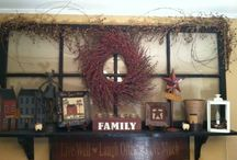 For our New house!! / Items, Styles (Rustic Chic/Primitive), Colors, etc being used in our new home!
