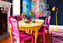 Living Life in colour / Colourful Decor