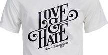 Typo T-shirts / Typography lovin' on tees
