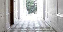 Interiors: Patterned Floors
