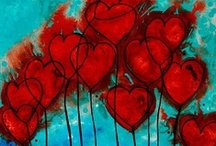 ♥ Art of the Heart ♥ / ♥  Hearts and Love  ♥ / by Edna Gooden