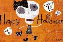 Halloween ﴾͡๏̯͡๏﴿ / by Edna Gooden