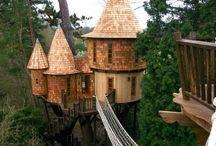 treehouses / by Kristin Wrobel